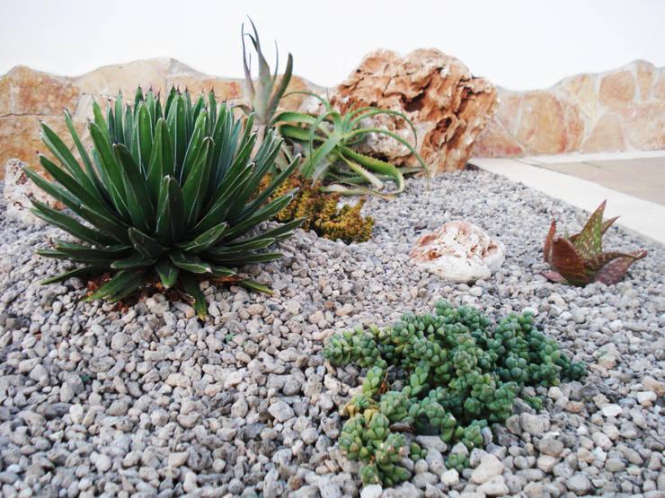 Verde pungente: Giardino in stile  di Au dehors Studio. Architettura del Paesaggio