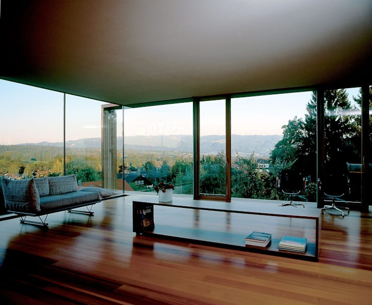 Living room by k-m architektur