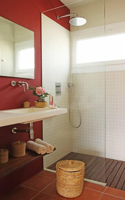 Baño: Baños de estilo  de Marta Sellarès - Interiorista