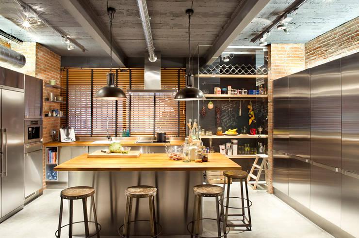 rustikale Küche von Egue y Seta