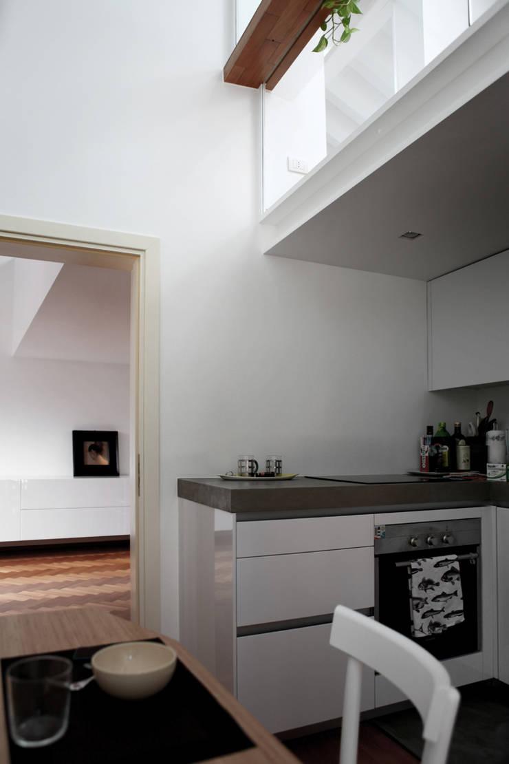 Keuken door écru architetti