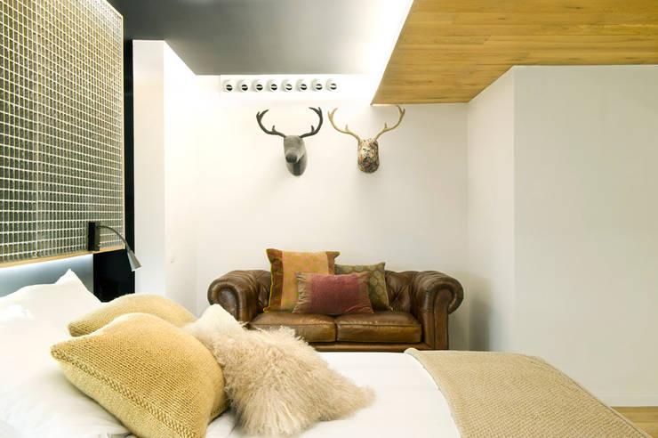 eclectic Bedroom by Egue y Seta