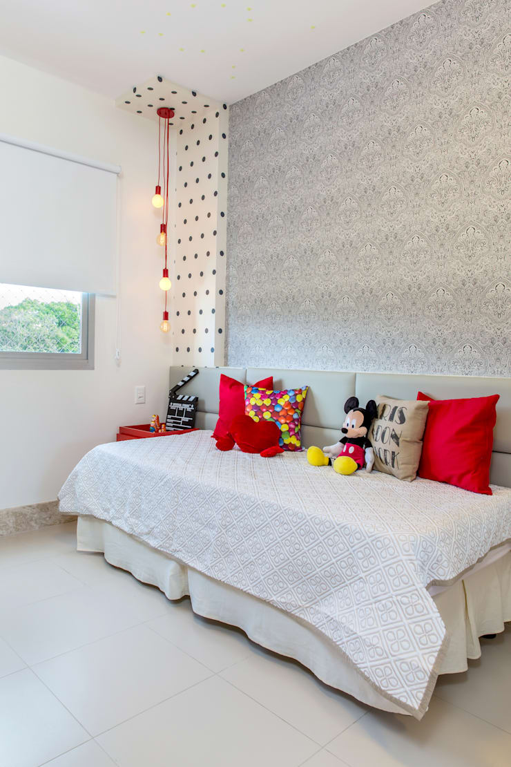 Bedroom by Milla Holtz Arquitetura, Modern
