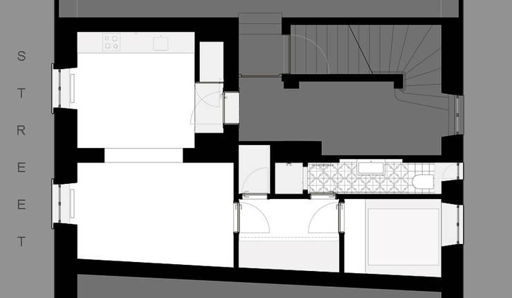 Brut Deluxe Architecture + Design의  주택,