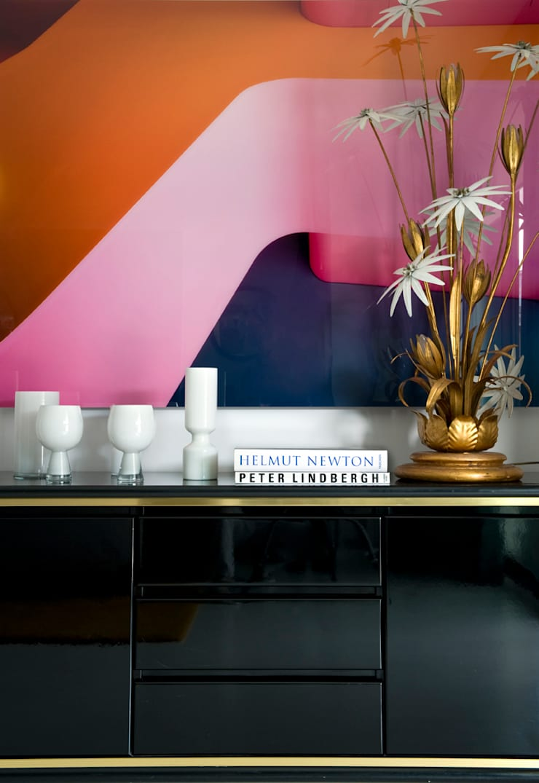 Mezcla de estilos: Salones de estilo moderno de MÁLAMO