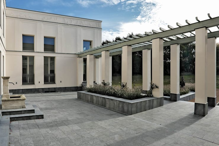 Terrazas de estilo  por CG VOGEL ARCHITEKTEN