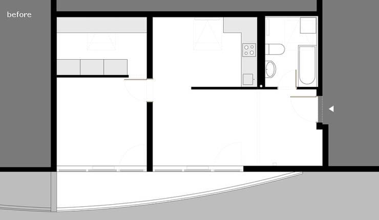 Huizen door Brut Deluxe Architecture + Design