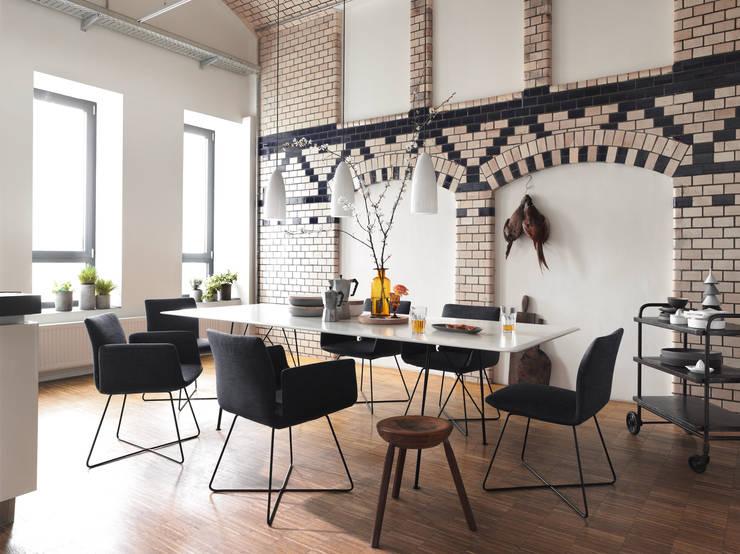 Salas de estar modernas por COR Sitzmöbel Helmut Lübke GmbH & Co. KG