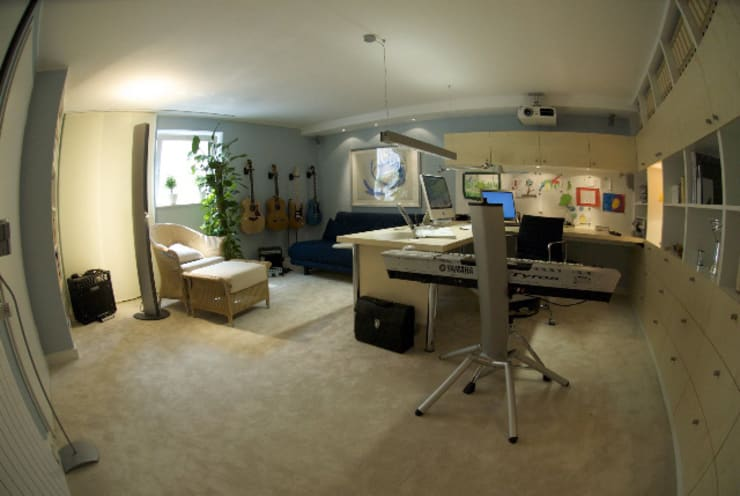 Estudios y oficinas de estilo  por Innenarchitektin Claudia Haubrock
