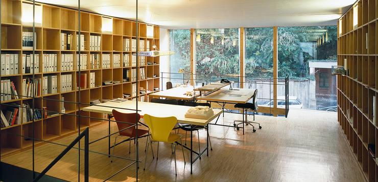 Teamzone:  Bürogebäude von A-Z Architekten,Minimalistisch