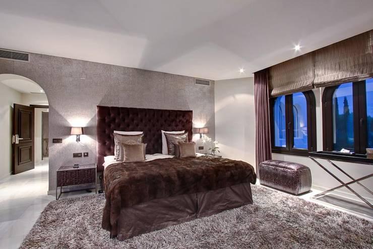Dormitorio Principal Dormitorios de estilo ecléctico de Ambience Home Design S.L. Ecléctico