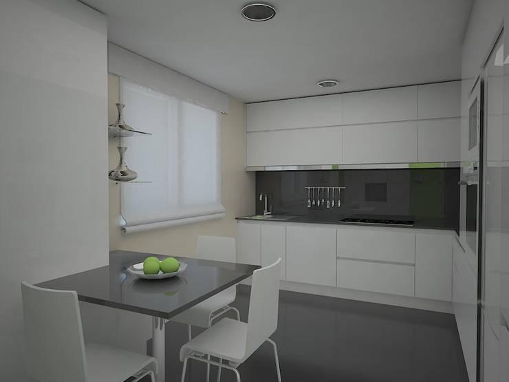 moderne Küche von MUMARQ ARQUITECTURA E INTERIORISMO