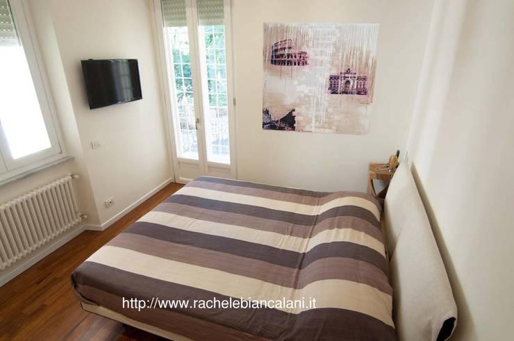 Projekty,  Sypialnia zaprojektowane przez Rachele Biancalani Studio