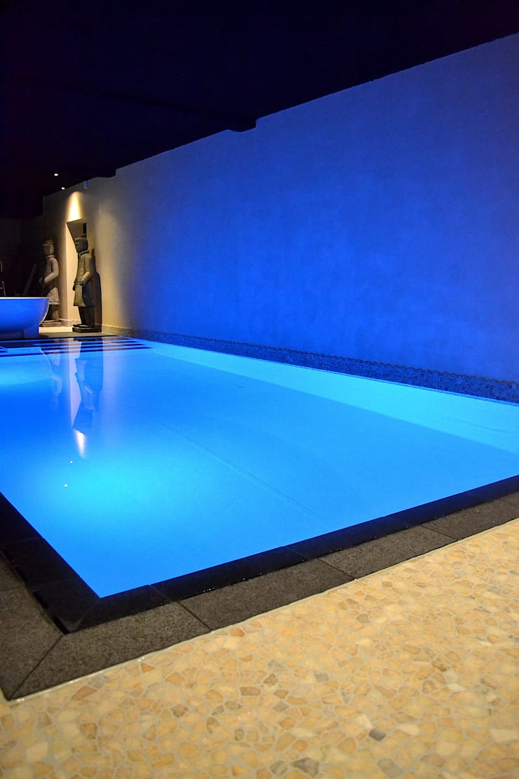 Pool by RON Stappenbelt, Interiordesign, Asian