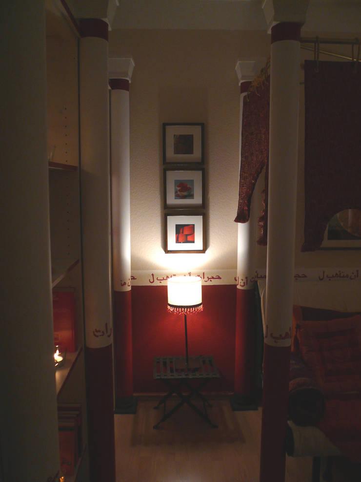 Innenarchitektin Claudia Haubrock의  침실, 에클레틱 (Eclectic)