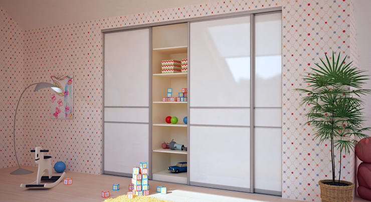 Nursery/kid's room by deinSchrank.de GmbH