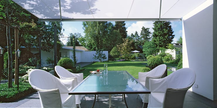 Jardines de estilo  por L-A-E LandschaftsArchitektur Ehrig & Partner