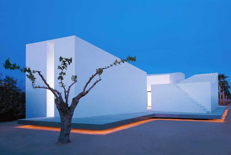 Casa para un fotógrafo 2 en el Delta del Ebro Casas de OFFICE OF ARCHITECTURE IN BARCELONA SLP (OAB)