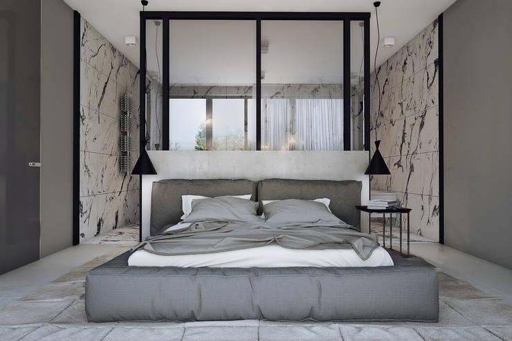 Bedroom by Angelina Alekseeva, Minimalist