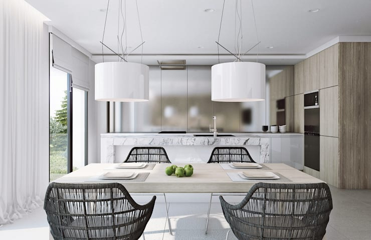 Kitchen by Angelina Alekseeva, Minimalist