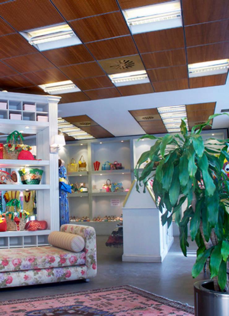 อาคารสำนักงาน ร้านค้า by Conalca
