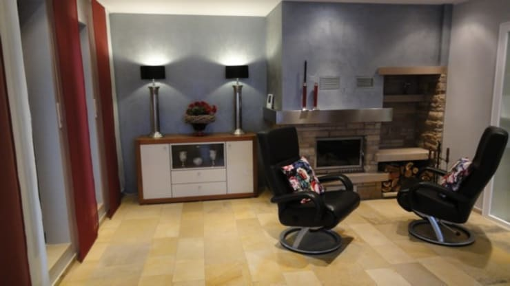 Perfekte Harmonie in Farben und Dekoration Moderne Wohnzimmer von Menke-Leseberg Modern