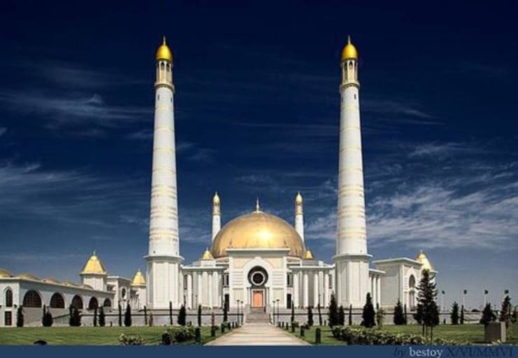Moschea Kiptchak / Turkmenistan: Hotel in stile  di decor srl