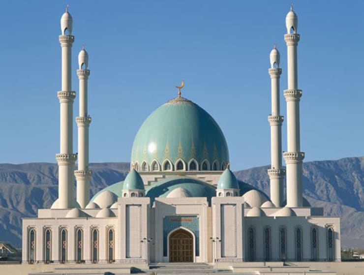 MOSCHEA GUEOK DEPE / Turkmenistan: Case in stile  di decor srl