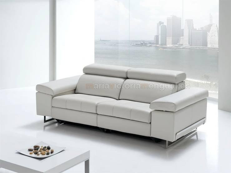 Sofa.....: Salones de estilo moderno de MUMARQ ARQUITECTURA E INTERIORISMO