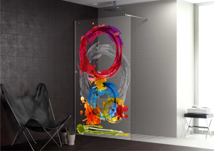 Diseño e Ideas frescas para los cuartos de baños: Baños de estilo  de Decoration Digest blog