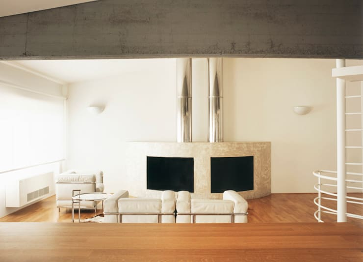 Living room by melaragni+campagna archimmagine studio