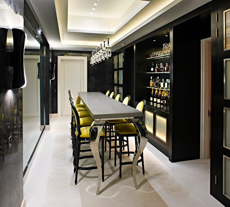 bar:  Dining room by Fisher ID