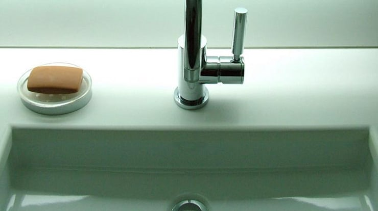 Banheiro  por sebastiano canzano architetto