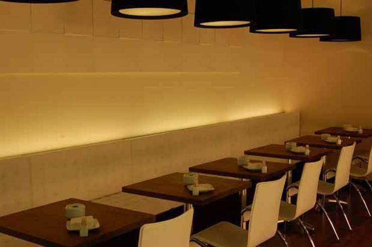 Restaurant – Lounge Sabor: Oficinas y Tiendas de estilo  de Arquitectura de Interior