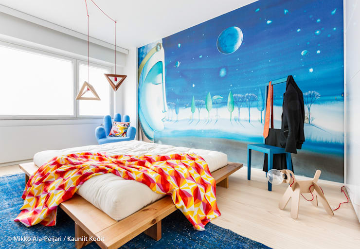 Salas de estilo escandinavo por Maurizio Giovannoni Studio