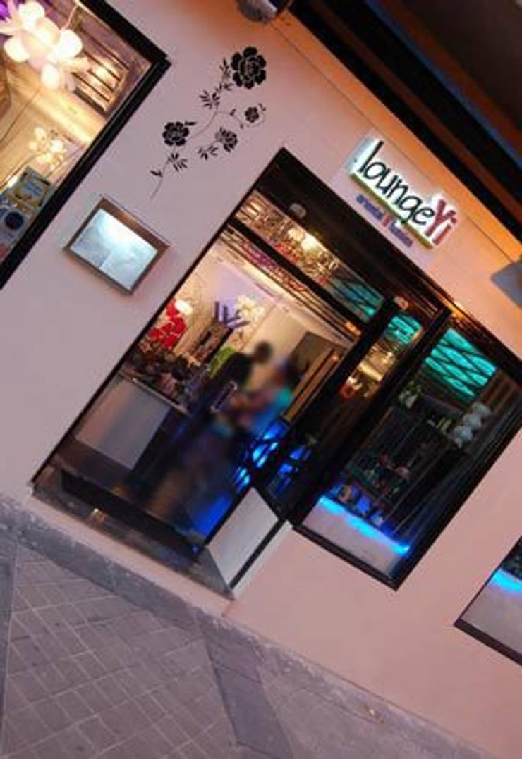 Restaurante Asiático Lounge Yi: Comedores de estilo  de Arquitectura de Interior