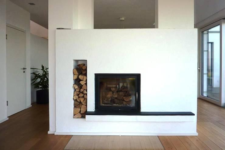 modern Living room by Architekturbüro HOFFMANN
