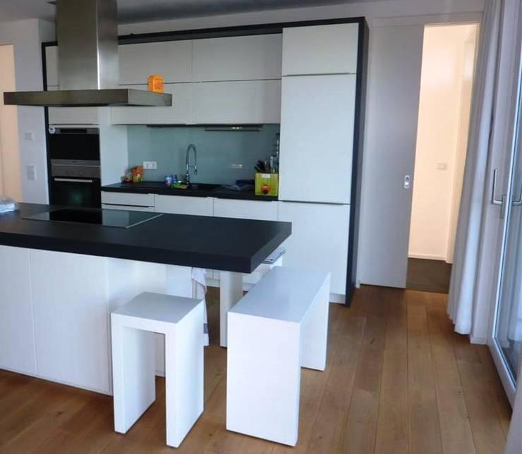 modern Kitchen by Architekturbüro HOFFMANN