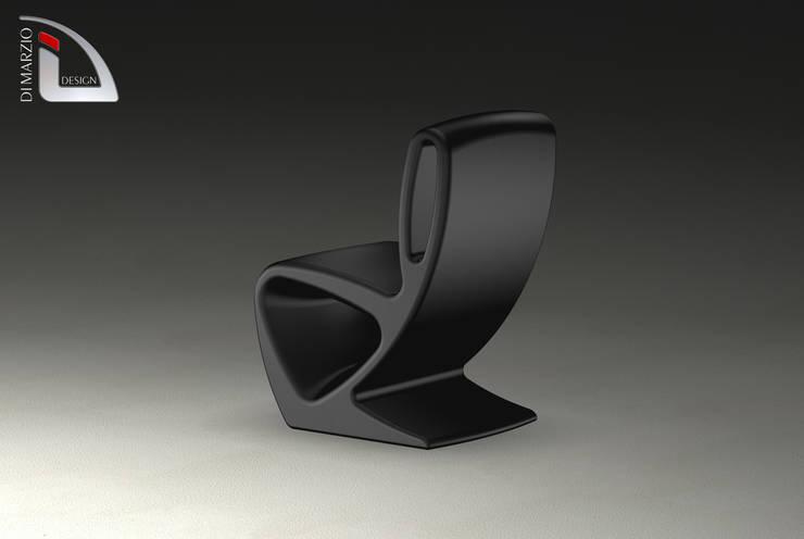ZEEN chair: Soggiorno in stile  di dimarziodesign