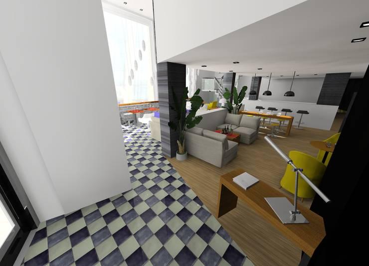 Cafetería:  de estilo  de I AM Home