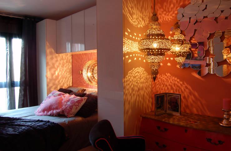 Pequeña Vivienda en Hontoria Segovia: Dormitorios de estilo  de Arquitectura de Interior