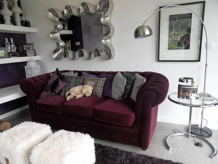 Sala de estar  por Ismael Blázquez | MTDI ARQUITECTURA E INTERIORISMO