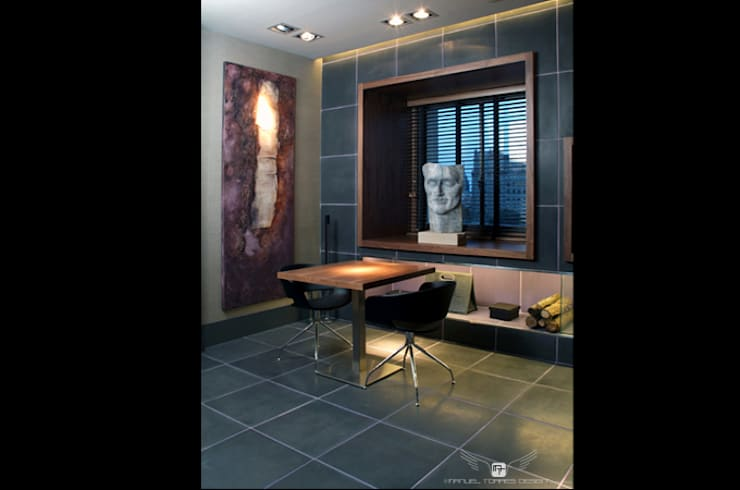 Spa de estilo  por MANUEL TORRES DESIGN