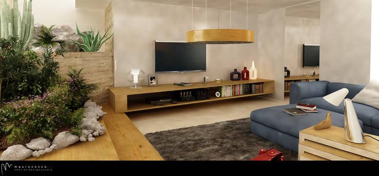 moderne Wohnzimmer von maurococco.it