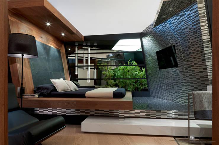 Habitaciones de estilo  por MANUEL TORRES DESIGN