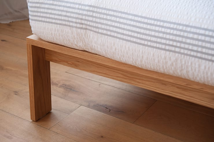 Shetland Bed:  Bedroom by Natural Bed Company
