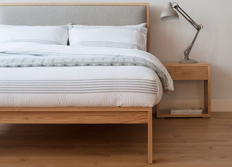 Dormitorios de estilo  por Natural Bed Company