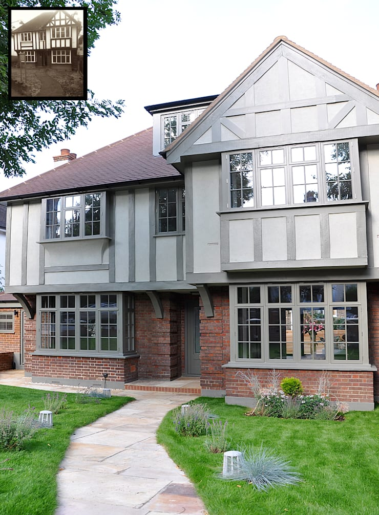 North London Entire House Remodelling: classic Houses by Studio TO