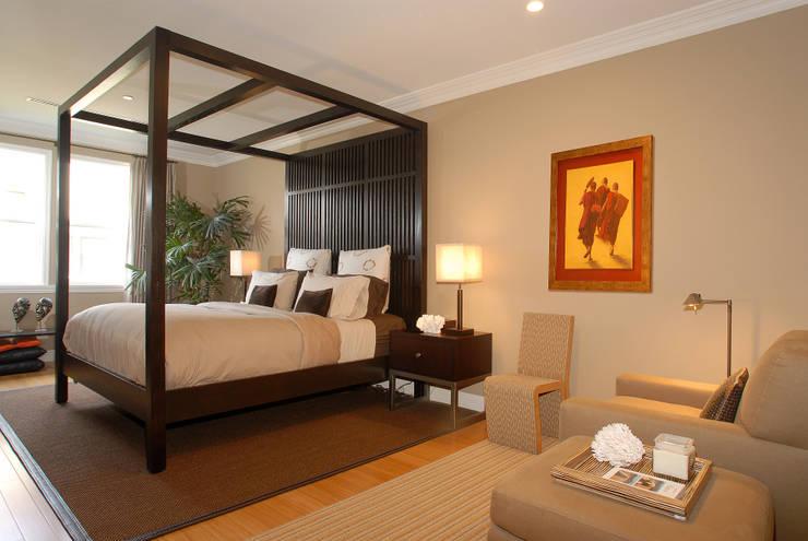 Projekty,  Sypialnia zaprojektowane przez Lewis & Co