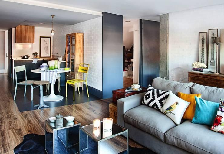 Living room by decoraCCion, Scandinavian